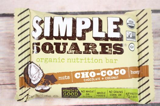 Simple Squares Cho-Coco Nutrition Bar
