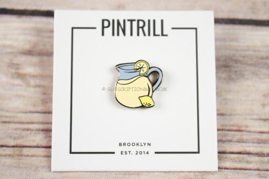 Pintrill Lemonade Pin
