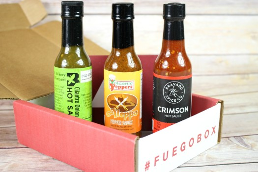 Fuego Box September 2016 Review
