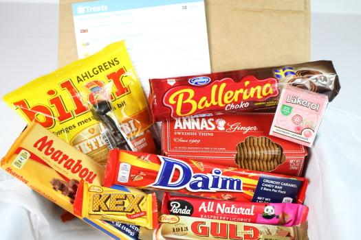 Treats August 2016 International Snack Review