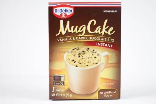 Dr. Oetker Vanilla & Dark Chocolate Bits Mug Cake