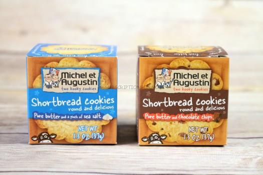 Michel et Augustin Shorbread Cookies