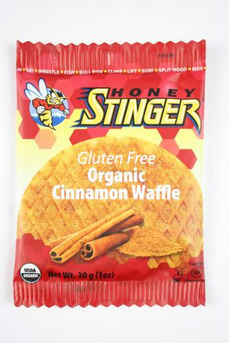 Honey Stinger Gluten Free Organic Cinnamon Waffle