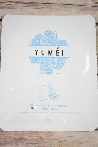 Yumei Water Glow Skin Renewal Facial Mask