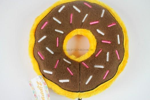 Zippy Paws Chocolate Donut Plush Toy