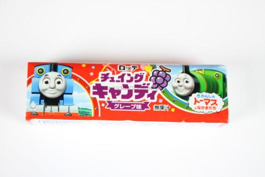 Lotte Thomas the Train Chewing Candy Grape Flavor