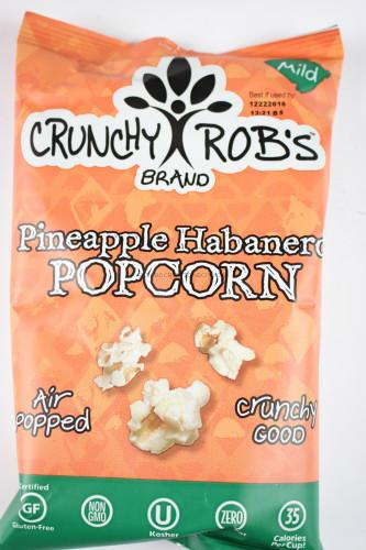 Crunchy Rob's Brand Pineapple Habanero Popcorn