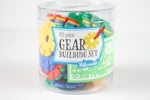 Toysmith 65 Piece Gear Building Set