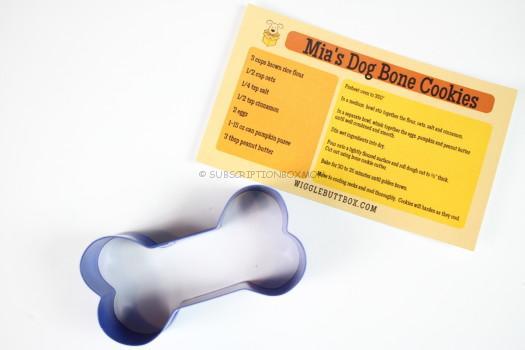Wigglebut Box Dog Bone Cookie Cutter