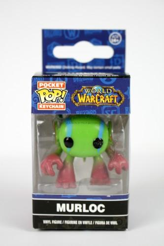 Funko POP Keychain: World of Warcraft - Murloc Action Figure