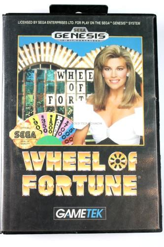 Sega Genesis Wheel of Fortune