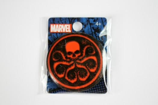 Marvel Hydra Logo Single Button Pin