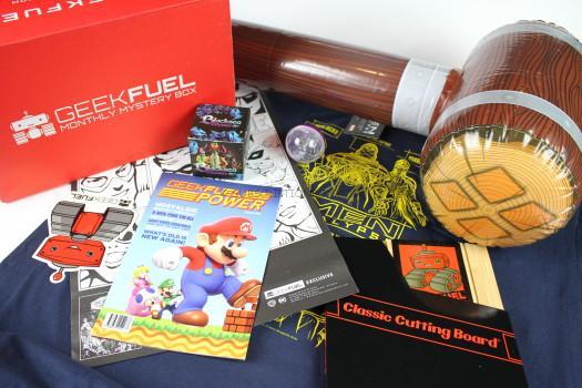 Geek Fuel September 2016 Review