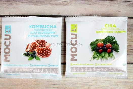 Mocu Health Kombucha & Chia Drink Mixes