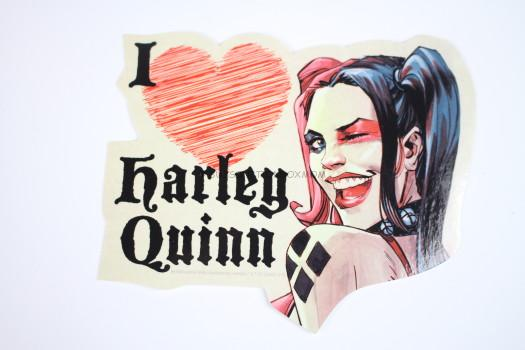I Love Harley Quinn Sticker