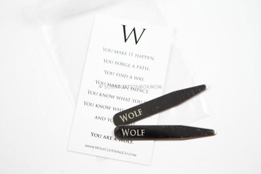 Wolf Clothing Co. Javelin Collar Stays