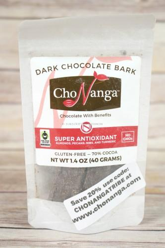 Chonanga Super Antioxidant Dark Chocolate Bark