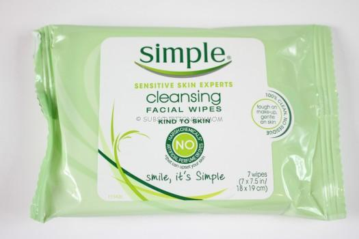 Simple Skincare Simple Cleansing Facial Wipes