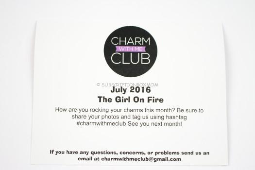 Charm with me Club social media