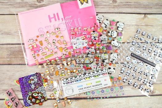 STICKII September 2016 Cute Sticker Review
