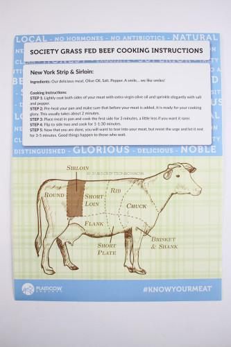 New York Strip Instructions