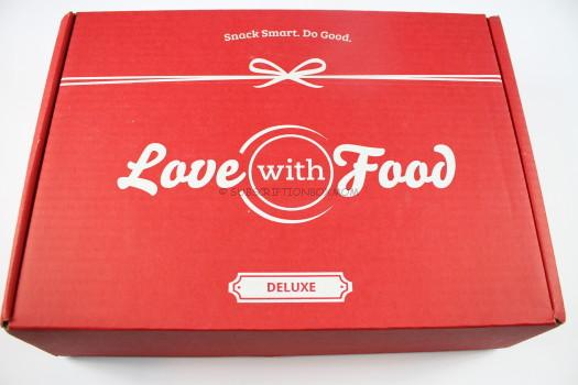Love with Food September 2016 Deluxe Box Review
