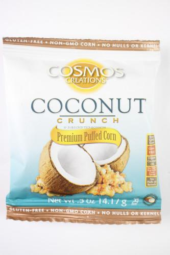 Coconut Crunch Premium Puffed Corn by Cosmos Creations
