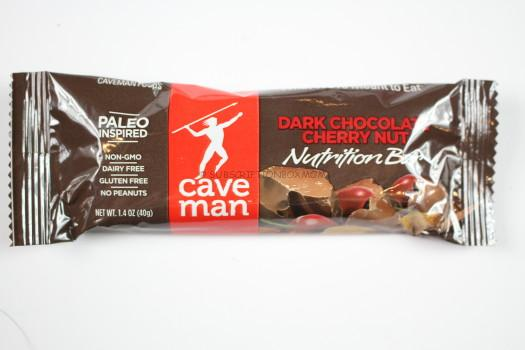 Dark Chocolate Nutrition Bars by Caveman Foods