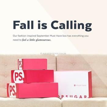 POPSUGAR Must Have Box September 2016 Theme Spoilers