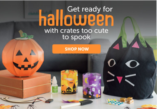 Free Shipping on Kiwi Crate Halloween Boxes