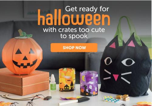 Free Shipping on Kiwi Crate Halloween Boxes