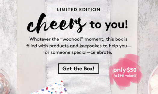 Birchbox Limited Edition Cheers to You Box
