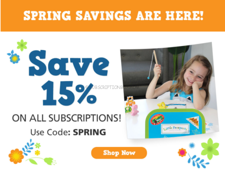 Little Passports 15% off Any Plan