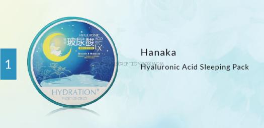 Hanaka Hyaluronic Acid Sleeping Pack
