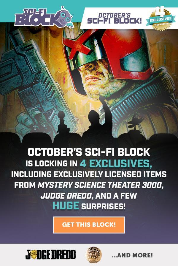 Sci Fi October 2016