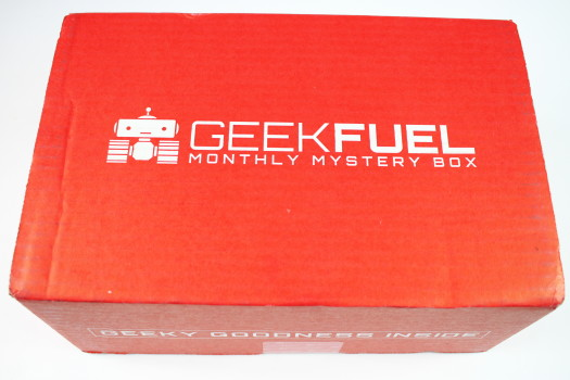 Geek Fuel October 2016 Review