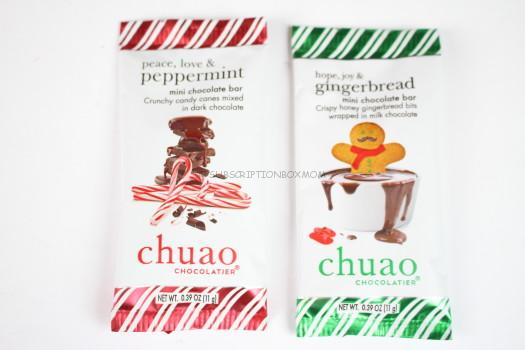 Chuao Peppermint and Gingerbread Chocolate