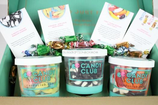 Candy Club October 2016 Review