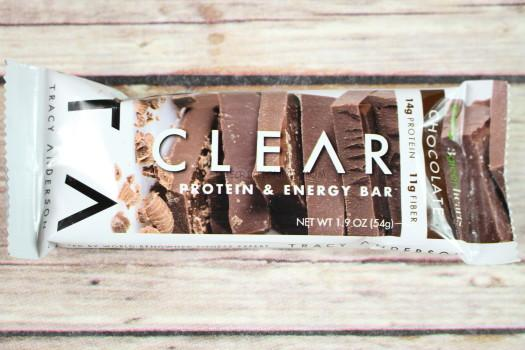 Tracey Anderson Clear Chocolate Protein & Energy Bar
