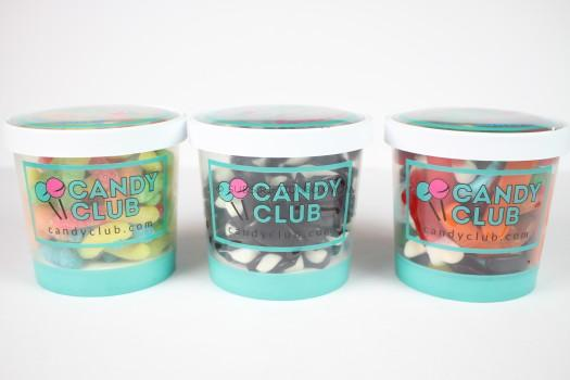 Candy Club Containers