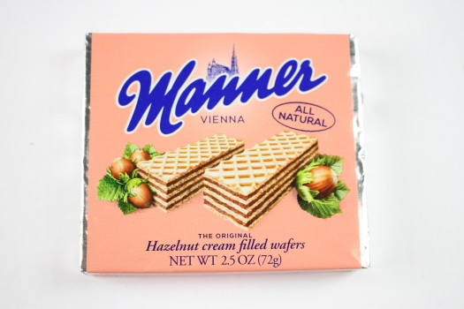 Manner All Natural Hazelnut Cream Filled Wafer