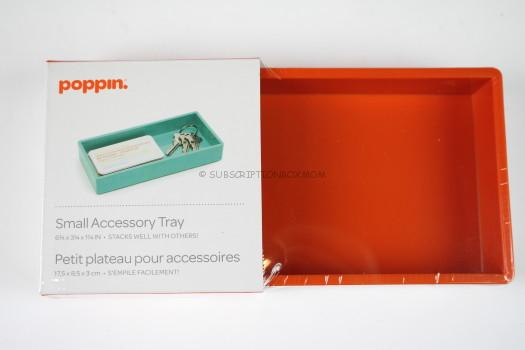 Poppin Small Accessory Tray