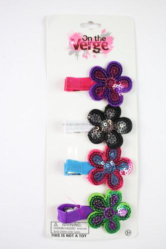 Sequin Hair Clips