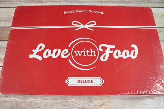 Love with Food October 2016 Deluxe Box Review