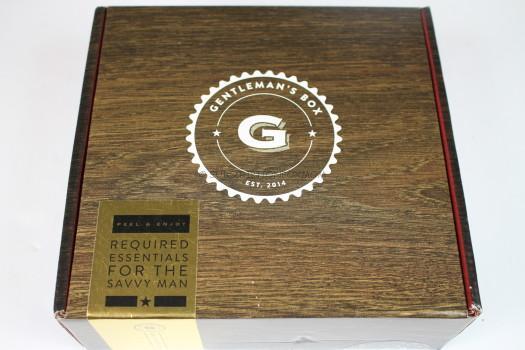 Gentleman's Box October 2016 Review