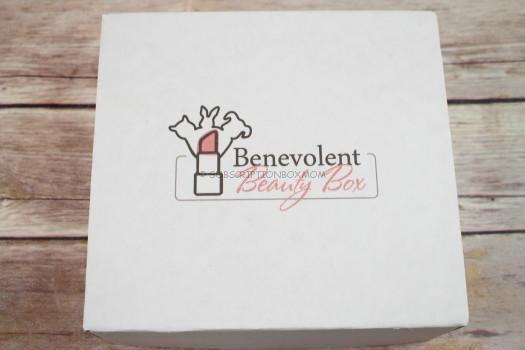 Benevolent Beauty Box Subscription Box Review