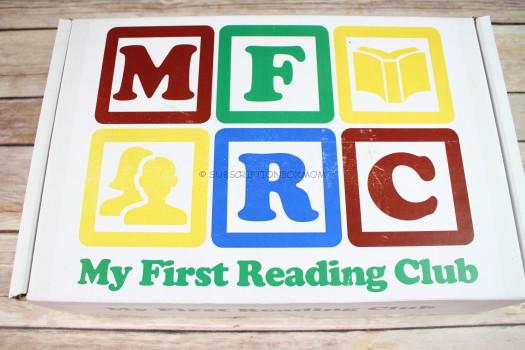 My First Reading Club September 2016 Review
