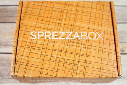 SprezzaBox October 2016 Review