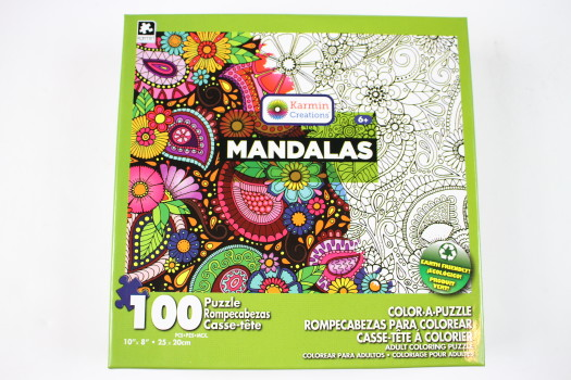 Mandalas 100 pcs Color-a-Puzzle by Creative Color