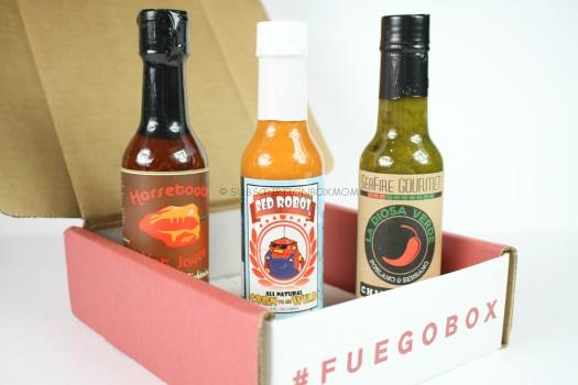 Fuego Box October 2016 Review